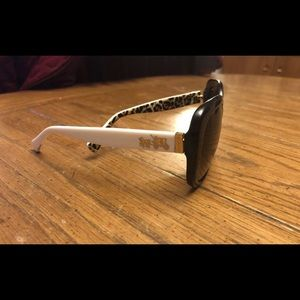 Coach Black & White Sunglasses